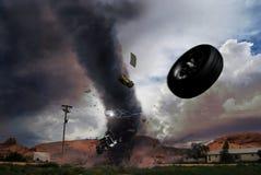 龙卷风 图库摄影