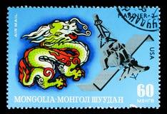 龙和水手2,阴阳历的黄道带图片 免版税库存照片
