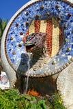 龙喷泉 免版税库存图片