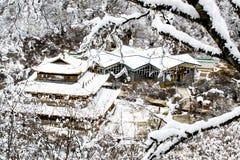 黄龙国家公园 免版税图库摄影