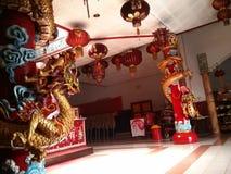 龙寺庙 免版税库存图片