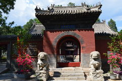 龙寺庙 免版税图库摄影