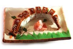 龙寿司 库存照片