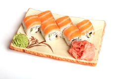 龙寿司 免版税库存照片