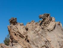 龙岩石 免版税库存照片