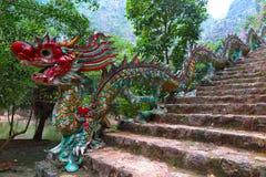 龙楼梯, Ninh Binh省,北越南 库存图片