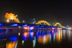 龙河桥梁 免版税库存图片