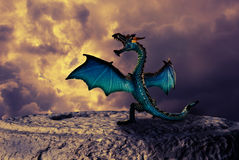 龙的力量 免版税库存照片