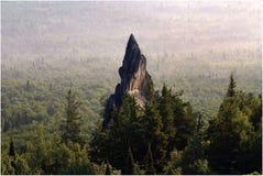 龙的牙的岩石 免版税图库摄影