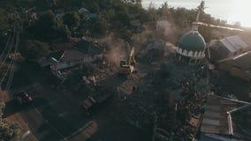 龙目岛地震2018年 影视素材