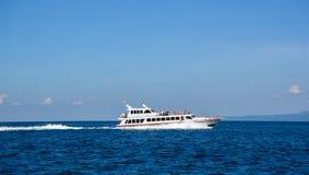 龙目岛海岛,印度尼西亚海景  免版税库存照片
