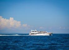 龙目岛海岛,印度尼西亚海景  免版税库存图片