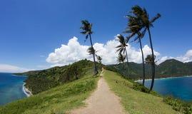 龙目岛海岛,印度尼西亚风景  库存照片