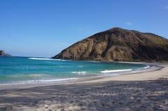 龙目岛sland海滩梦想海滩 库存图片