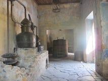 龙舌兰酒不可思议的镇在哈利斯科州,墨西哥 免版税库存照片