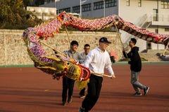 龙节日在中国 免版税库存图片