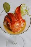 龙虾沙拉 免版税图库摄影