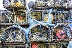 龙虾纱架 免版税库存图片