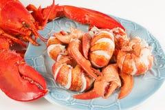 龙虾肉 免版税库存图片