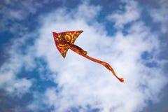 龙被仿造的风筝 库存照片