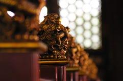 龙雕塑 免版税图库摄影