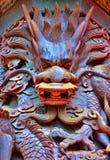 龙雕象 免版税库存照片
