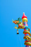 龙雕象 免版税图库摄影