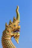 龙,纳卡语,大蛇雕象 库存照片