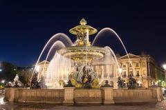 巴黎,协和广场 库存图片