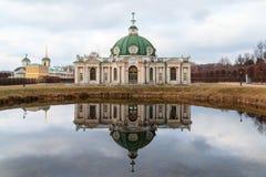 洞穴,博物馆-庄园Kuskovo 18世纪 莫斯科俄国 免版税库存照片