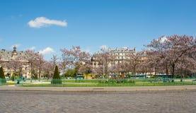巴黎,地方d'Italie 免版税库存图片