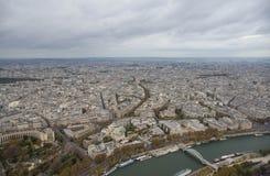 巴黎,城市的看法 库存照片