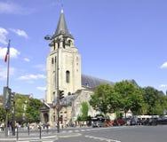 巴黎,威严的16,2013教会视图在巴黎 库存照片