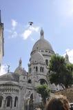巴黎,威严的19,2013-Sacre Coeur大教堂在巴黎 库存照片