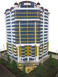10 10 2015年,摩尔多瓦,房地产陈列,大模型细节是 免版税库存照片