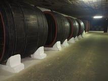 3 10 2015年,摩尔多瓦, Cricova 有双的老传统葡萄酒库 库存照片