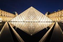 巴黎,法国罗浮宫  库存图片