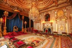 巴黎,法国,凡尔赛宫殿内部 免版税图库摄影