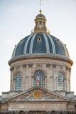 巴黎,法国, 2012年11月25日:巴黎宫殿和屋顶它 法国 免版税库存图片
