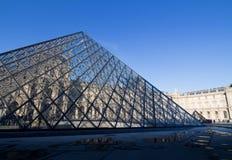 巴黎,法国- 2016年3月:罗浮宫在巴黎,法国 (Musee de Louvre) 库存图片