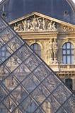 巴黎,法国- 2007年10月:罗浮宫,巴黎,法国 库存图片
