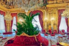 巴黎,法国- 2016年7月03日:拿破仑三世的公寓 卢霍 免版税库存照片