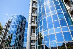 巴黎,法国- 2015年8月30日:现代玻璃商业中心 法国巴黎 库存图片
