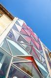 巴黎,法国- 2015年8月30日:现代玻璃商业中心 法国巴黎 图库摄影