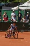 巴黎,法国- 2017年6月10日:罗兰・加洛斯妇女轮椅fi 免版税库存图片