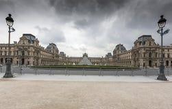 巴黎,法国- 2008年6月02日:罗浮宫 免版税库存照片