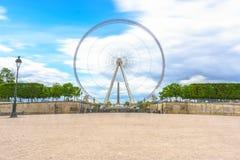 巴黎,法国- 2017年5月3日:重要人物的长的曝光视图 库存图片