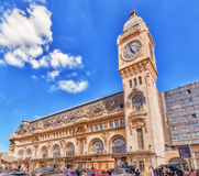 巴黎,法国- 2016年7月09日:驻地Gare de利昂是一个t 图库摄影