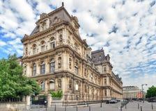 巴黎,法国- 2016年7月08日:Hotel de Ville在巴黎,是 图库摄影