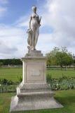 巴黎,法国2017年4月30日:Jardin des Tuileries 路易斯澳大利亚 图库摄影